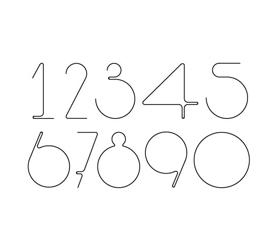 Hurumufu font on the Behance Network #font #design #graphic #123 #alphabet #numbers #type #hurumufu #typography