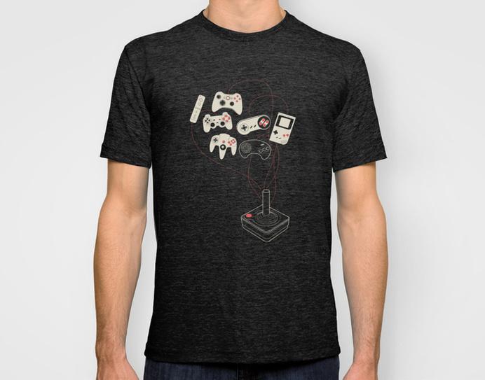 Videogame - T-shirt #t-shirt #videogame