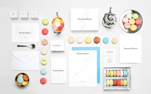 Anagrama | Theurel & Thomas #promotional #design #branding #macaroons
