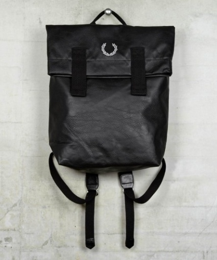 Fred Perry - Deconstructed Rucksack #object #product #bag #design