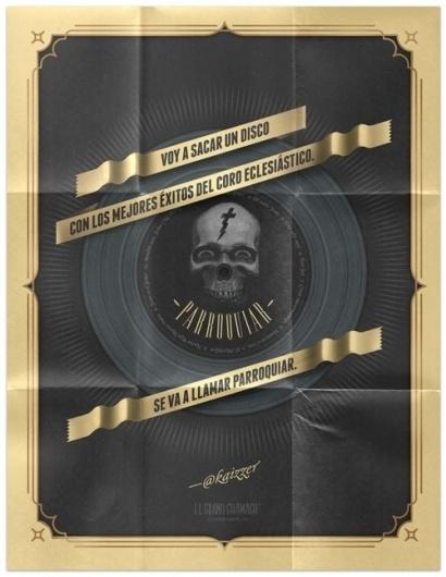 Zoooom In // Inspiration Extravaganza #skull #twitt #poster #typography