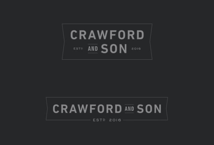 Crawford & Son Logo, Branding, Identity - Paul Tuorto