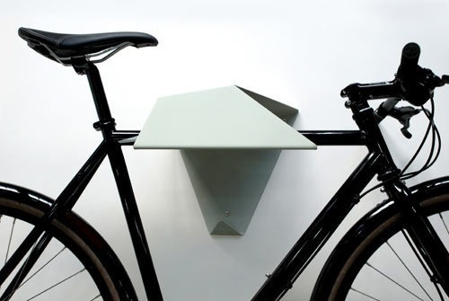 abstract bike shelf #interior #inspirational #creative #design #home #bike #rack #cool