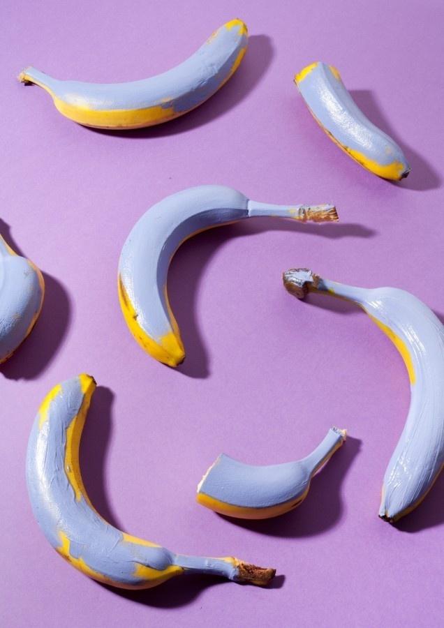 Compostition VIII by Lauren Hillebrandt #compostition #banana #fruit #purple