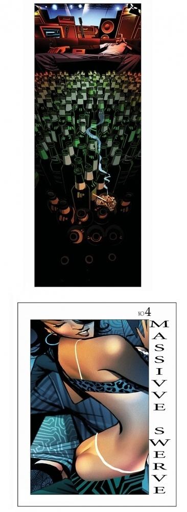 http://www.robertvalley.com/ #beer #guitar #smoke #cigarette #graphic #novel #illustration #bottles