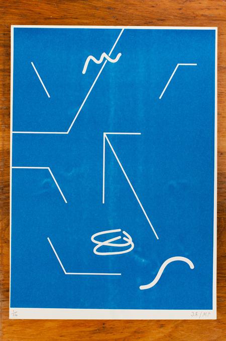 Template Prints, March 2012 : Max Parsons Art / Art Direction #line #minimal