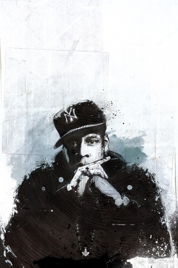 @Fatoe.com | A Collection of Work by Mike Orduña #man #jay #jigga