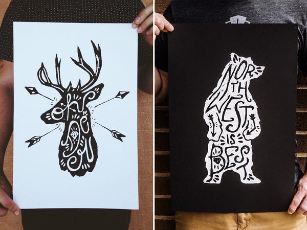 Tyler Thorney Prints #type