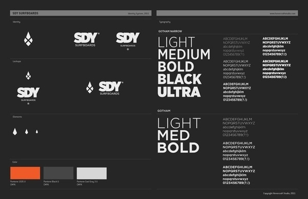 SDY SURFBOARDS on the Behance Network #greyscale #dark #black #grey