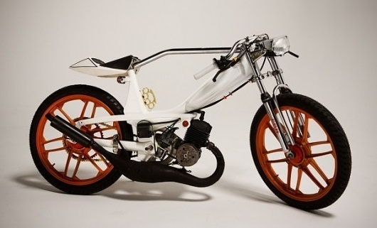 1978 Motobecane: Mean Custom Moped #design
