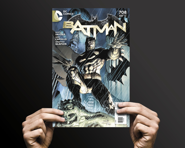 DC Comics Rebrand by Landor Associates #font #book #batman #comic #layout