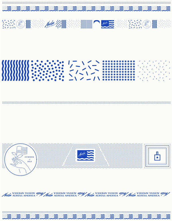 Nails Across America on Behance