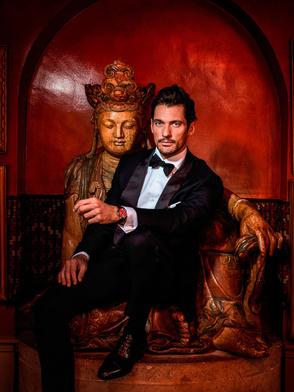 David Gandy by PEROU #portraits #celebrity #photography