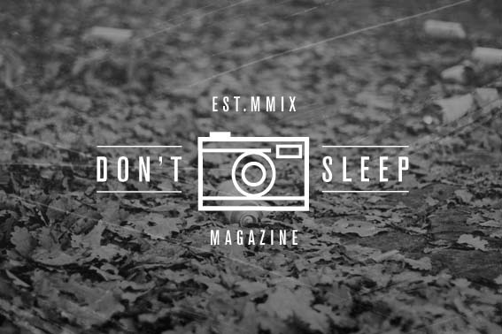 Typography Designs - Chico San #dont #sleep #photography #magazine #typography