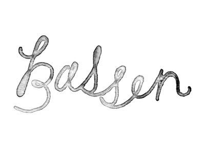 Dribbble - Last Name. by Tuesday Bassen #script #tuesday #name #logo #bassen #last #typography