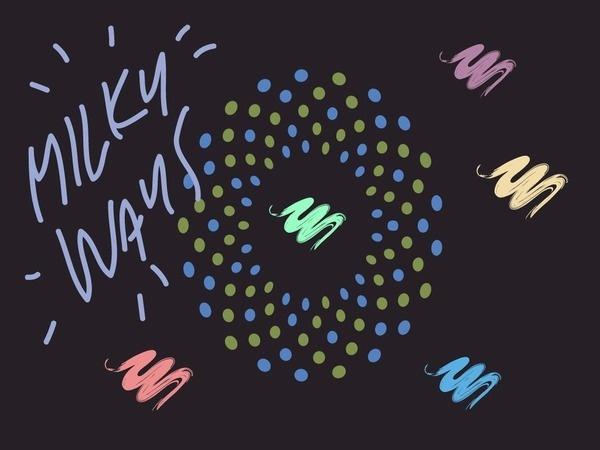 Foragepress.com   Henrik Matias #dots #color #stroke