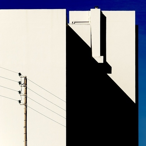 Electricity, Juan-les-Pins, 2008 | Flickr - Photo Sharing! #urban #sun #electric #photo #graphic #square #building #light #shadow