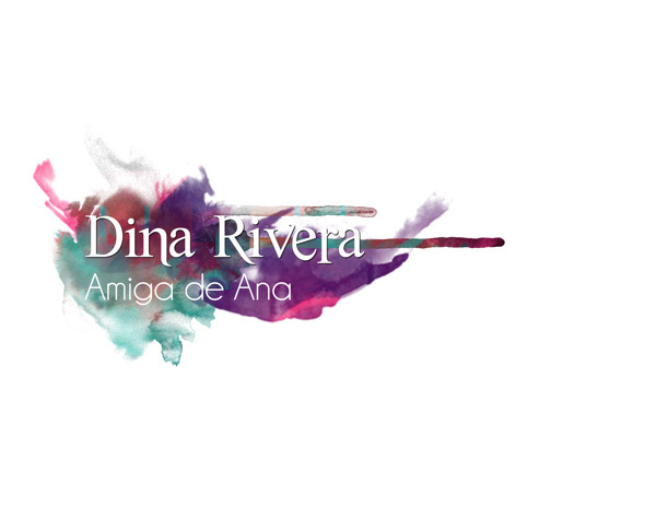 Name Titles // Ana Low: El Documental #watercolors #title #design #graphic #name #poster