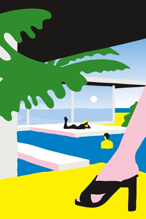 Kenzopedia #1: A for ArchitecturenIllustration for Kenzo, 2014nLink to the story