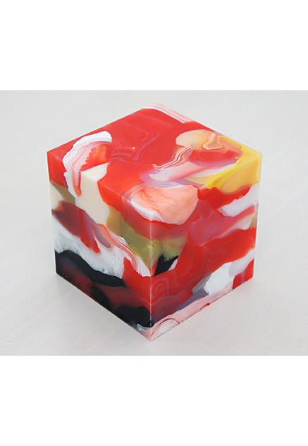 Matthias van Arkel #red #arkel #van #cube #art #matthias