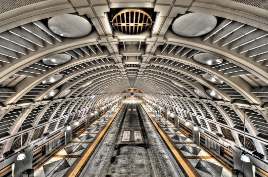 All sizes | Intergalactic Bus Tunnel | Flickr - Photo Sharing! #photo #seattle #transportation