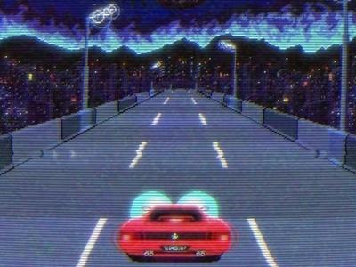 Retro Ferrari