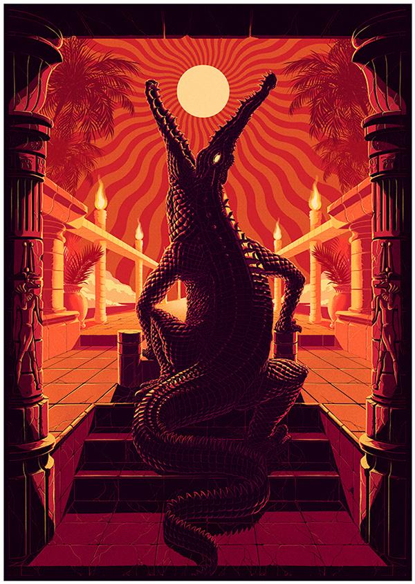 Psych Night #crocodile #scene