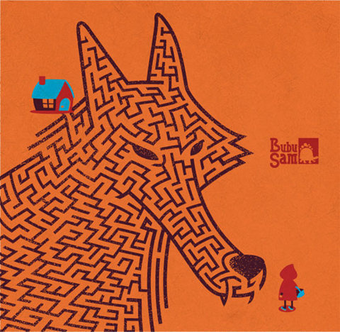 Amaze Red Orange   Flickr Photo Sharing! #maze #red #riding #little #hood