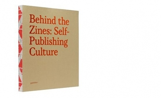 Behind the Zines, Self-Publishing Culture | Swiss Legacy #binding #zines #red #book #cover #typography