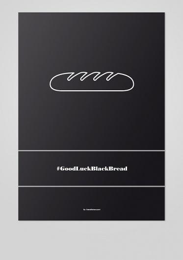 Pa Negre, Isma Latasa's Portfolio #bread #poster #typography