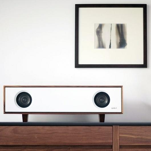 Fancy - Tabletop HiFi by Symbol Audio #speaker #modern #office #music #decoration