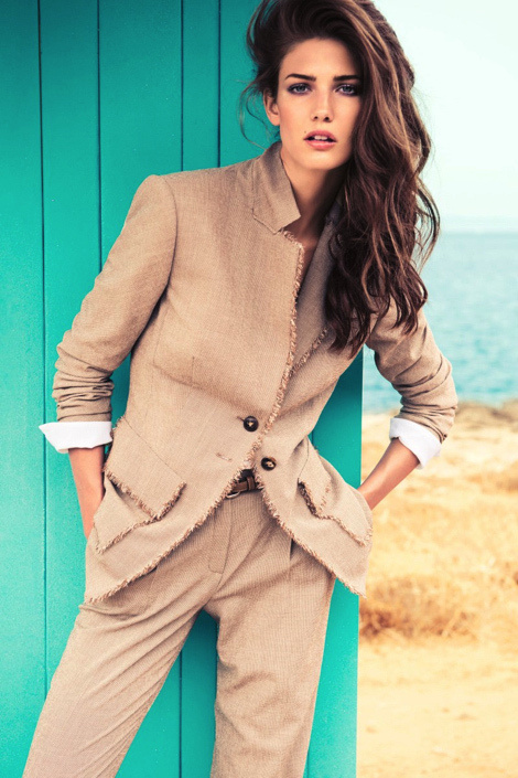 Kendra Spears for Escada Campaign 2013 #fashion #model #photography #girl