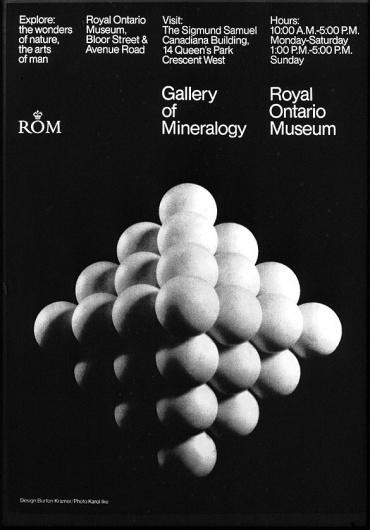 Burton Kramer - Signalnoise.com #geometry #white #museum #black #grid #shape #poster #rom