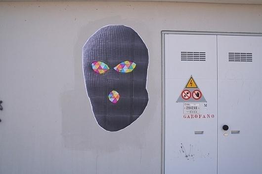 Untitled | Flickr - Photo Sharing! #bile #balaclava #art #street