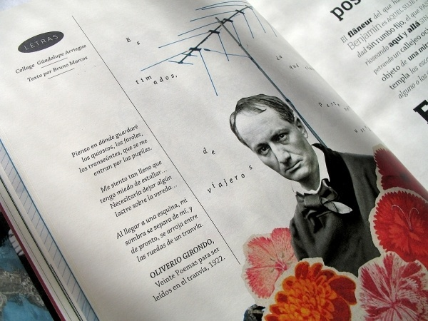 dale /13   Flickr - Photo Sharing! #girondo #literature #article #baudelaire #poetry #collage