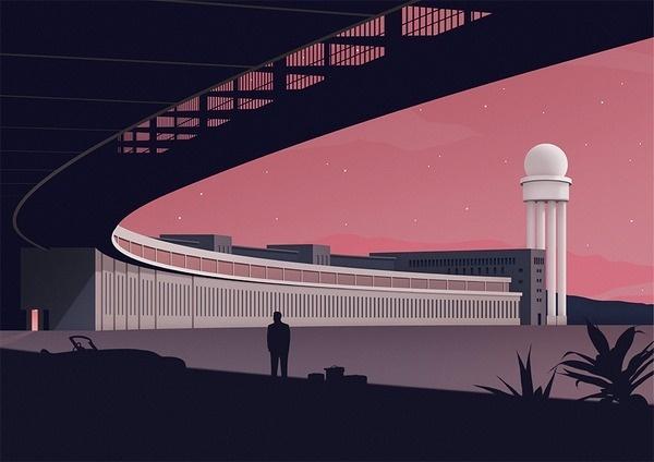 Tumblr #flat #illustration #vector