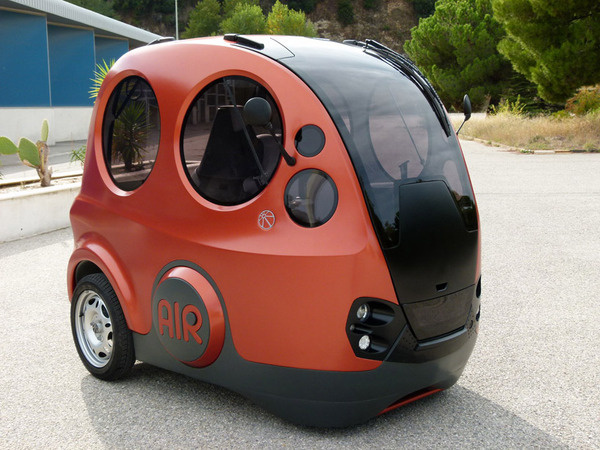 tata motors: AIRPOD air-powered urban commuter vehicle #car