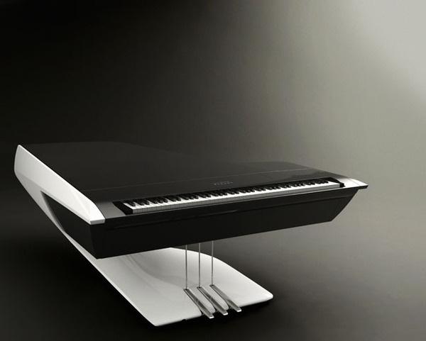 Pleyel Grand Piano #tech #amazing #modern #innovation #design #futuristic #gadget #ideas #craft #illustration #industrial #concept #art #cool