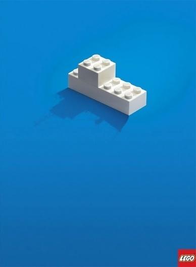 ReubenMiller : Lego Print Ad #advert #print #lego #advertising