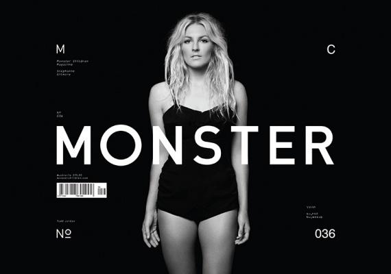 Monster Children » Monster Children Issue 36 #design #cover #monster #type #magazine