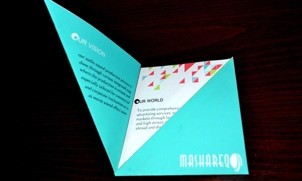 Mashareq brochure #brochure