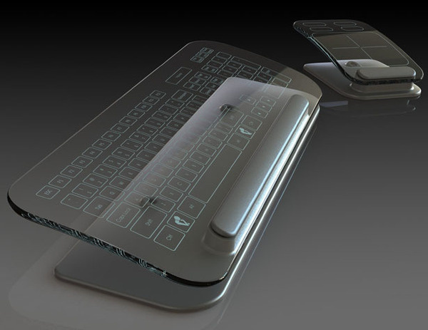 Multi Touch Keyboard and Mouse #tech #amazing #modern #innovation #design #futuristic #gadget #ideas #craft #illustration #industrial #concept #art #cool
