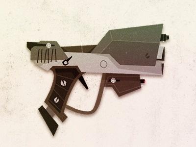 Halo - Rogie #vector #weapon #pistol #gun #illustration