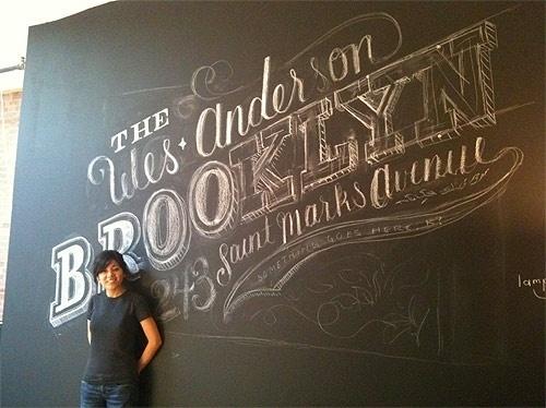 BOOOOOOOM! - CREATE * INSPIRE * COMMUNITY * ART * DESIGN * MUSIC * FILM * PHOTO * PROJECTS #script #we #anderson #chalk #drawn #hand