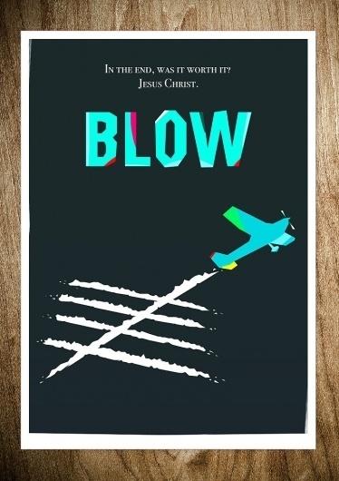 BLOW - Rocco Malatesta Posters & Prints #movie #malatesta #graphic #rocco #illustration #poster #blow