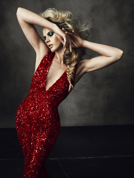 Anne Vyalitsyna by Norman Jean Roy #fashion #model #photography #girl