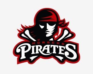 Horsens Pirates #logo #football #pirates #branding