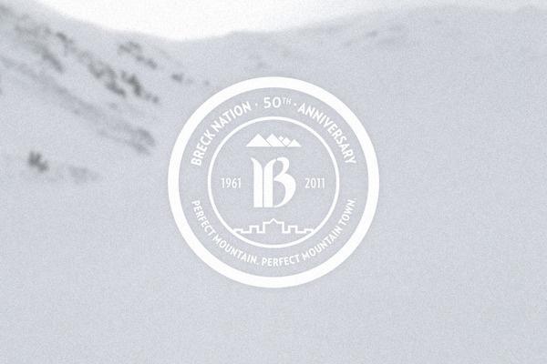 Breckenridge #circle #badge #refresh #identity #logo