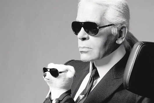 HUH. - Karl Lagerfeld for The Biennale des Antiquaires #fashion
