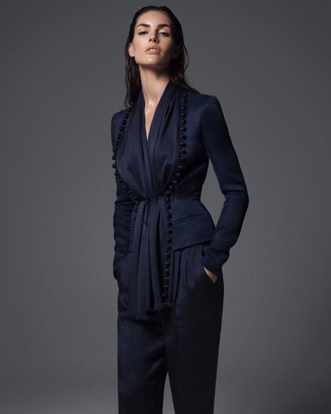 Hilary Rhoda by Sean & Seng for Bergdorf Goodman's Campaign #fashion #model #photography #girl